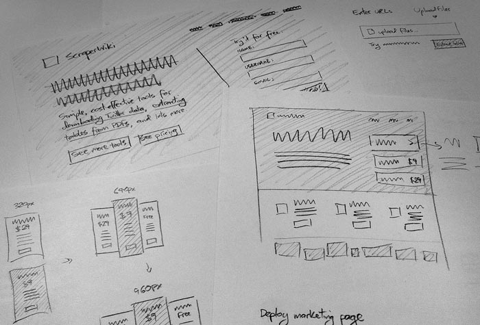 Why I wireframe in pencil